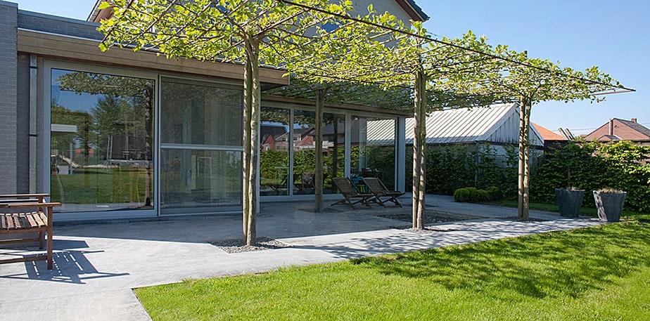 Polybeton terras voor en nadelen prijs en leuke idee n - Terras eigentijds huis ...
