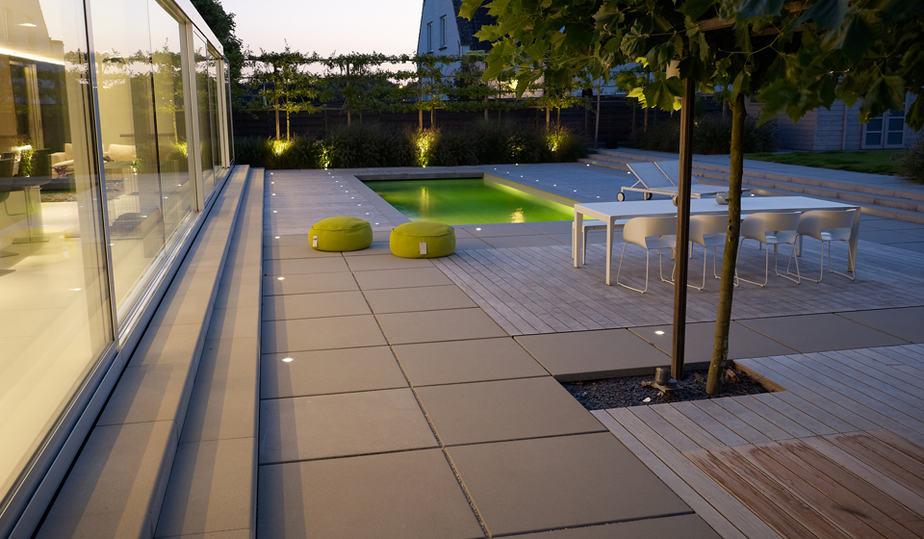 Betontegels terras terras aanleggen - Afbeeldingen van terrassen verwachten ...