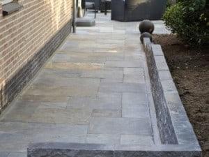 Leisteen terrastegels