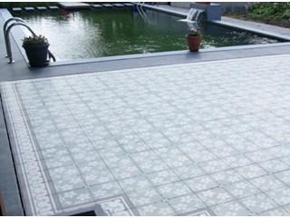 Keramische tegels terras aanleggen - Dek een terras met tegels ...